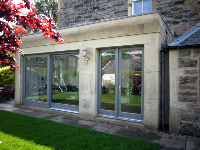Helen lucas architects edinburgh news garden room for Garden house extension