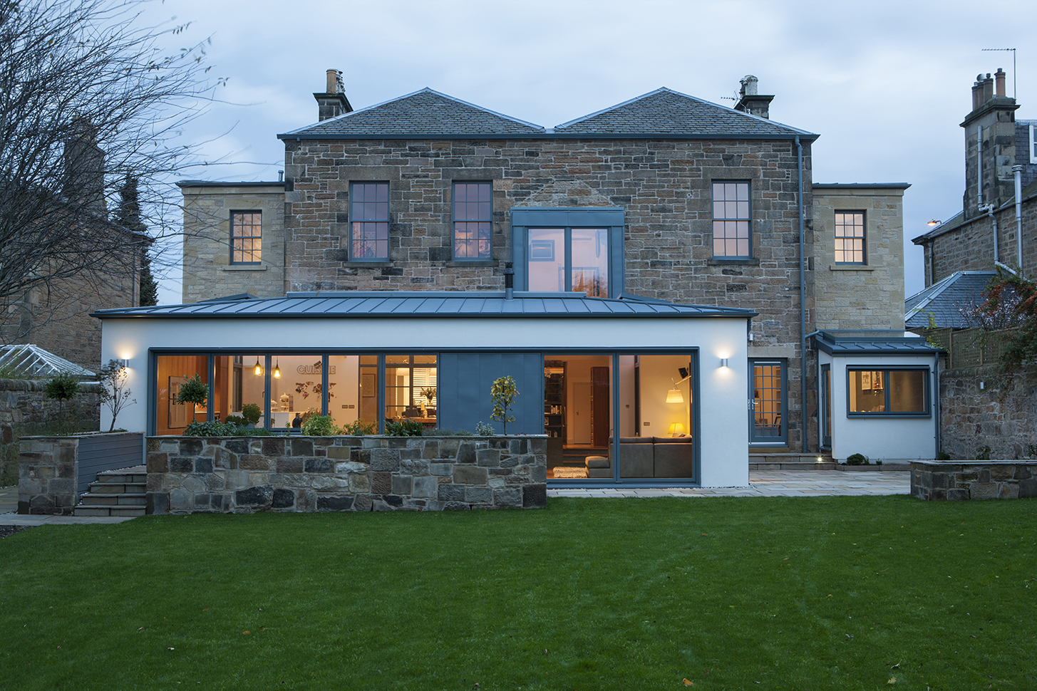 Helen lucas architects edinburgh project greenhill home for Renovation interieur maison ancienne