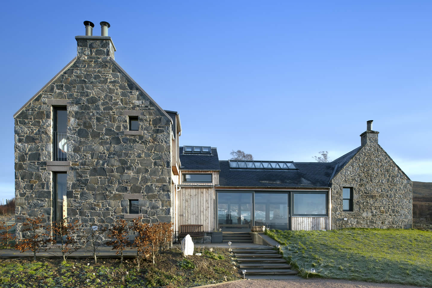 Helen Lucas Architects Edinburgh Project Stone