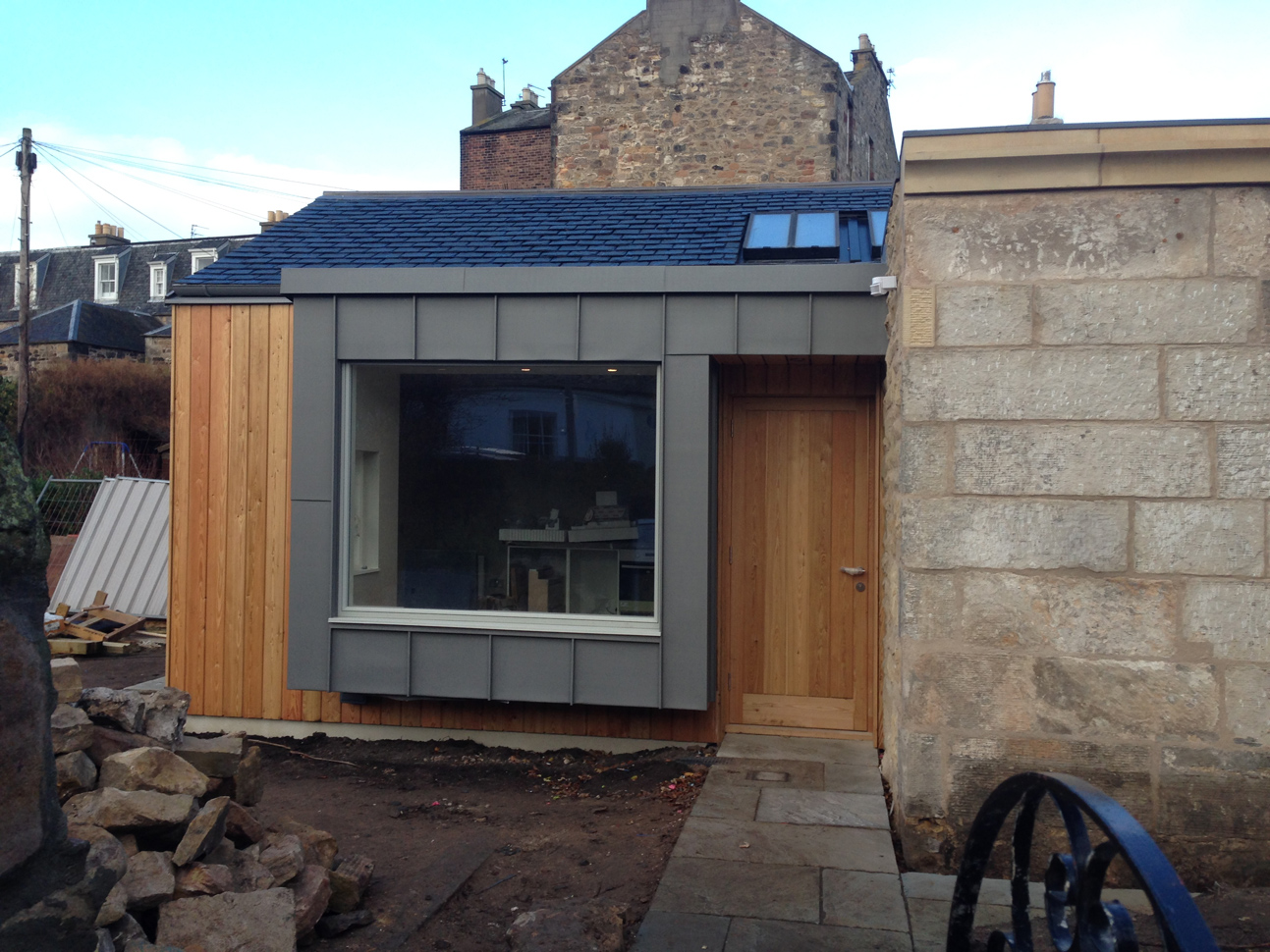 Cladding Extension Lead : Helen lucas architects edinburgh news tag timber