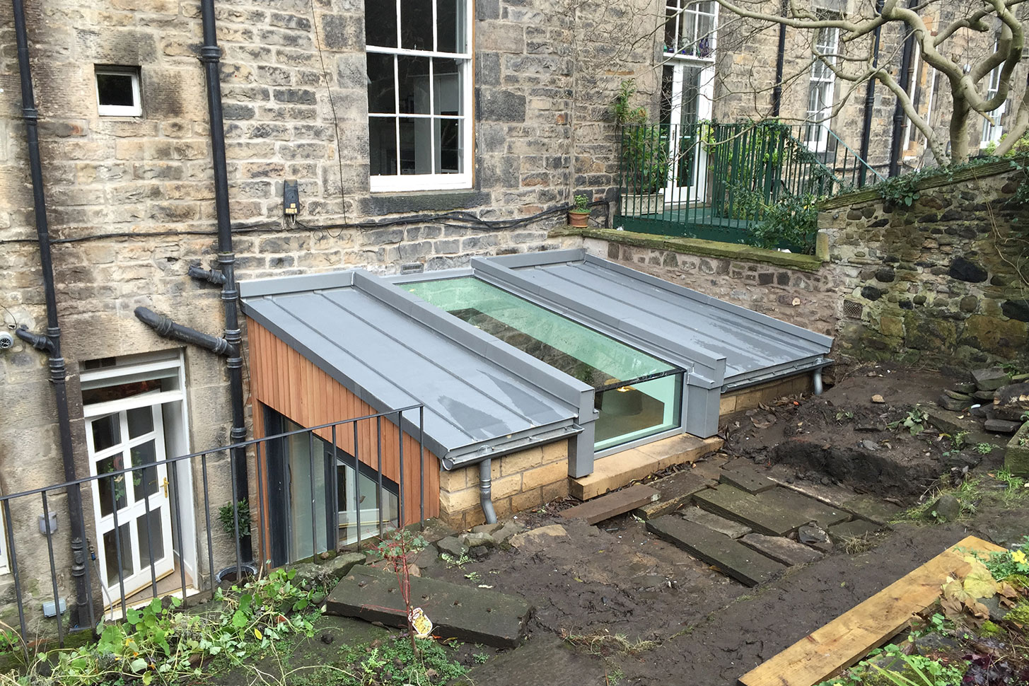 Helen Lucas Architects Edinburgh News Rooflight